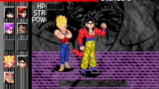 Dragon Ball Gt Transformation: Como jugar con personajes desbloqueables