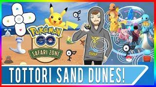 POKEMON GO JAPAN EVENT COORDS! Tottori Sand Dunes Event Is Happening Now! Pokemon GO Unown Event