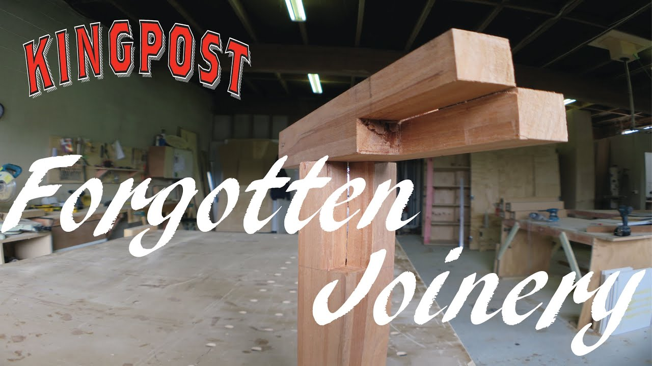 forgotten joinery techniques - YouTube