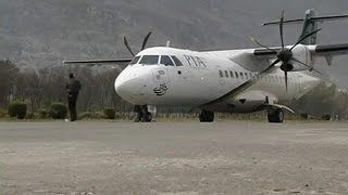 Pakistan passenger plane crashes with more than 40 on board