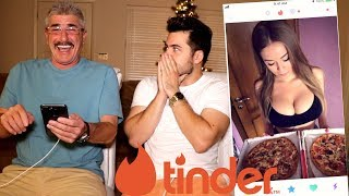Teaching My Dad How To Use Tinder (bad idea) EP.6