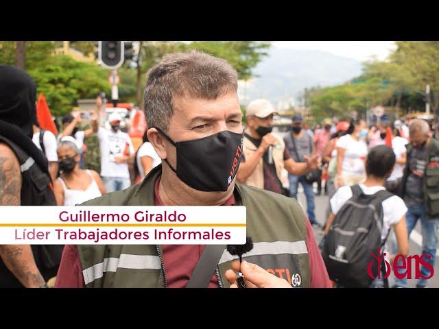 Los trabajadores informales de Medellín no aguantan más