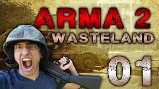 Worst Sniper Rifle, GREATEST SHOTS! - (Arma 2 Wasteland - Part 3)
