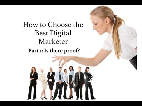 How to Choose the Best SEO/Digital Marketing Company - IS THERE PROOF?