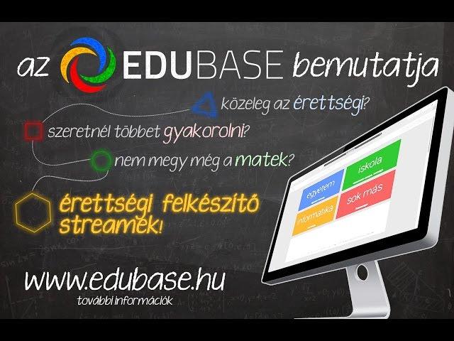 EduBase Középszintű Matematika Érettségi Felkészítő: I. vetítés