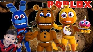 Five Nights at freddy's for kids in Roblox Obby by Freddy FNAF IN ENGLISH ? Games for children