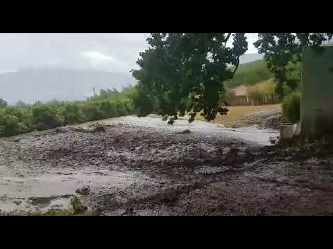 Hewige storms tref Tulbagh