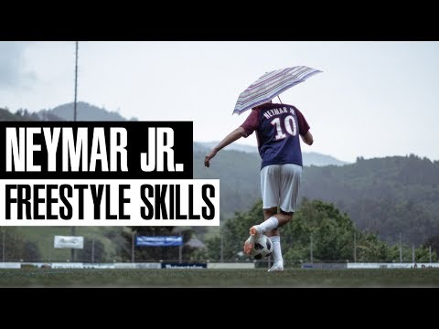 Lerne 2 Neymar Jr Freestyle Tricks -  World Cup Tutorial #1