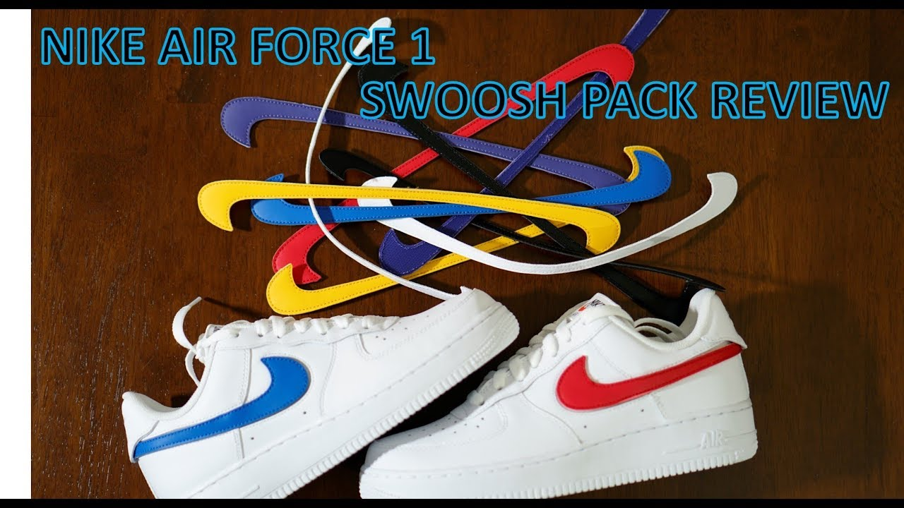 new product 70f9b 9b092 REVIEW - Nike Air Force 1 Swoosh Pack