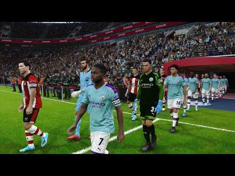 Manchester City vs Southampton | Carabao Cup 29 October 2019 Gameplay