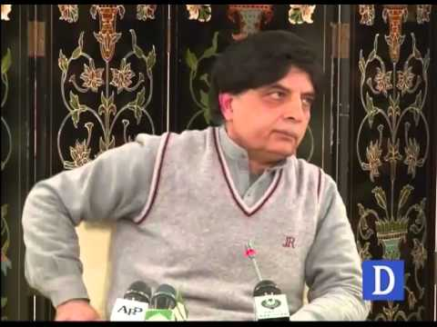 CH Nisar press conference, question and answer session