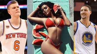 Klay Thompson Commits BOOTY BURGLARY on Kristaps Porzingis' Instagram Model Crush