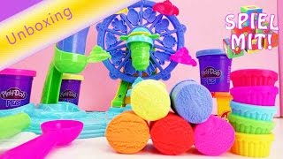 Play Doh Cupcake Karusell - Unboxing Play Doh Cupcake Knete Set