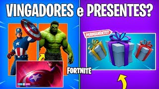 FORTNITE-AVENGERS SKINS and PERMANENT GIFTS?