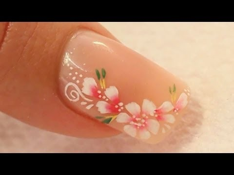 Nude Acrylic Nail Art Using Cover Pink Acrylics Tutorial