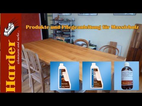 Pflege Und Reinigung Für Massivholztische