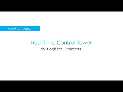 ActiveViam Demo - Real time Control Tower for logistics operators