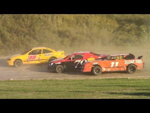Mini Stock Heat One | Genesee Speedway | 9-16-18
