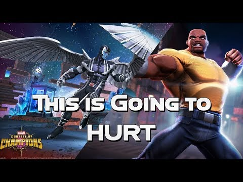 Alliance War vs H!R!2 - This is Going to HURT -  Marvel Contest Of Champions |
