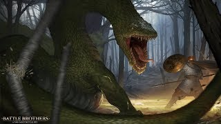 Battle Brothers Lindwurm Special