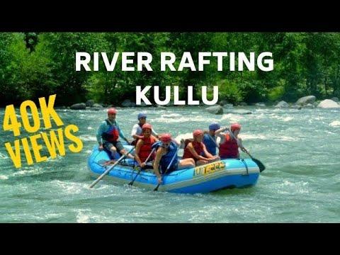 Kullu Manali River Rafting | Jan 2018 | freezing temperature!!