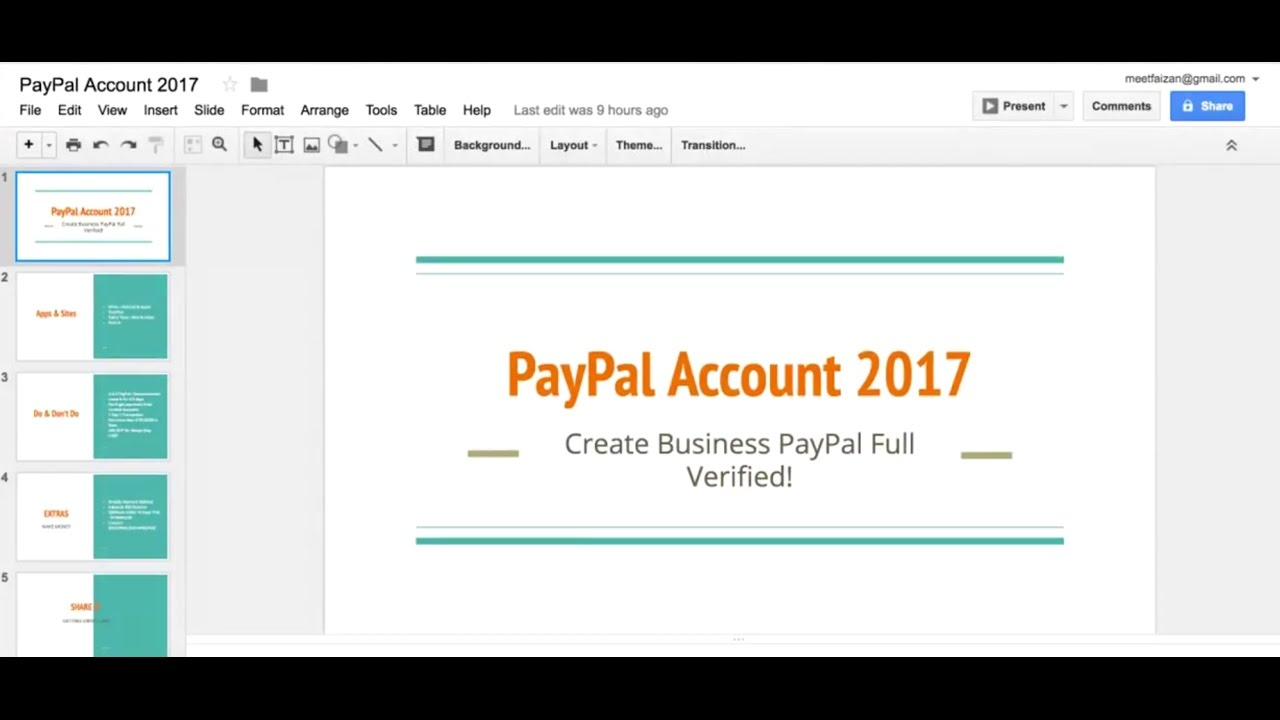 Create PayPal Business Account - 2017 Updated Method