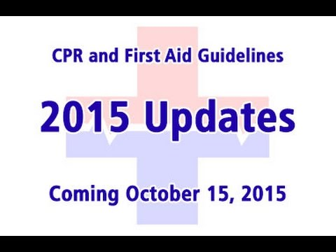 Preview of 2015 CPR Guidelines Update