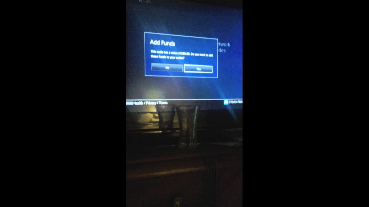 Ps4 redeem code (fake money) - YouTube