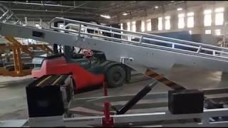 Transtec Electric Belt Conveyor