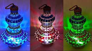 DIY - Lantern/Tealight Holder from plastic bottle (Part 2) | DIY Christmas Decorations Idea