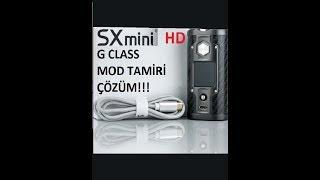 Sx mini g class mod sürekli ateşleme problemi Çözümü ''full hd''