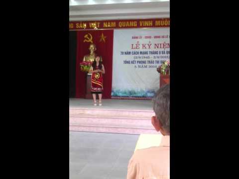 CÔ GÁI PA CÔ - Lê Duyên - Đội văn nghệ xã Lê Lợi