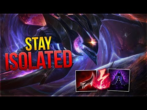 Stay Isolated! Khazix Toplane [League of Legends] [Deitsch / German] thumbnail