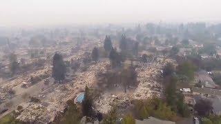 Waldbrände in Kalifornien Okt.  2017 - Energiewaffen?