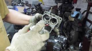 Ремонт карбюратора ВАЗ 2107 2106 2105 своими руками: как снять, промыть, перебрать, диагностика неисправностей, как поставить +видео