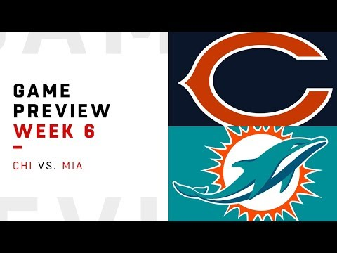 Chicago Bears vs. Miami Dolphins   Week 6 Game Preview   NFL Playbook