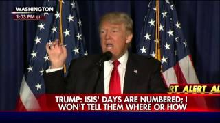 Donald Trump: Obama-Clinton foreign policy has been disaster.