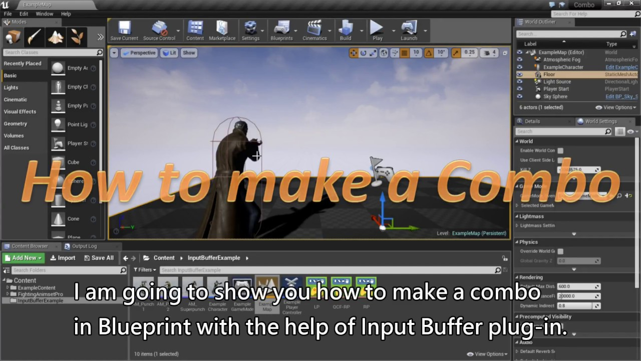 Free input buffering plug in for unreal engine 4 unreal engine tutorials malvernweather Choice Image