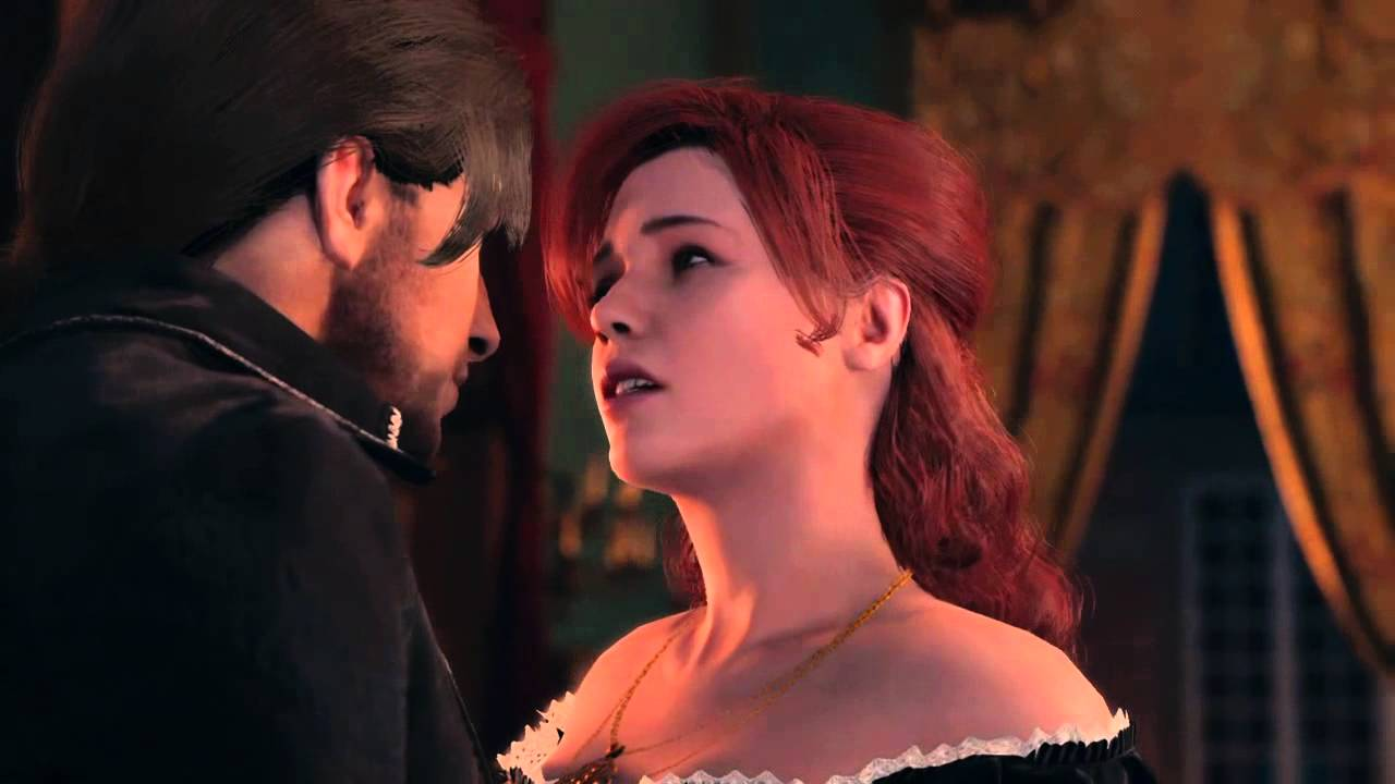 Assassins Creed Unity Arno Elise Kiss Youtube