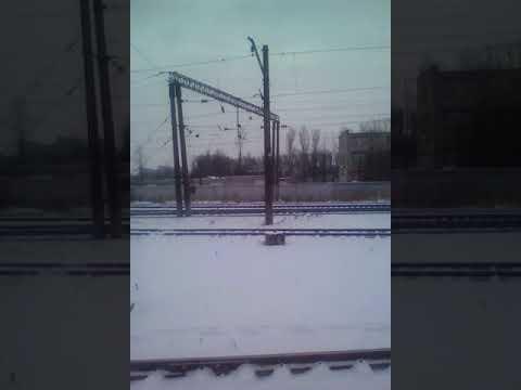 Электропоезд.Санкт- Петербург(Витебский)-Оредеж