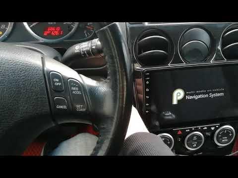 Mazda 6 GG на Android 9, управление климатом