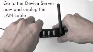 How to connect USB devices to the PROLiNK Sharehub Device Server