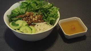 Vietnamese Grilled Pork With Rice Vermicelli Recipe