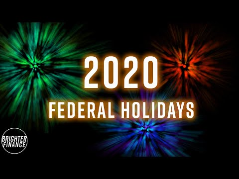 Federal Holidays in USA 2020 | What is the next Federal Holiday?