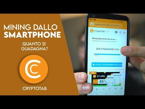 CryptoTab - MINING CON IL TELEFONO! | Funziona? Ecco Le Risposte E Quanto Si Guadagna!