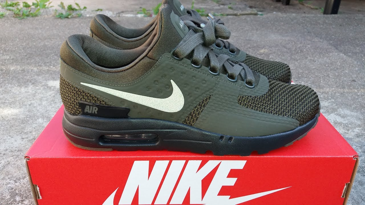 promo code b521b e20c6 Nike Air Max Zero Reflective - Unboxed and On Feet