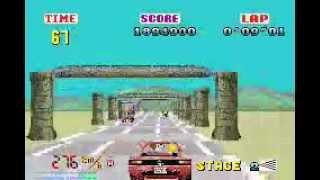OutRun - Sega Arcade Gallery (Gameboy Advance)