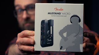 FENDER Mustang Micro / TESTS & premières impressions