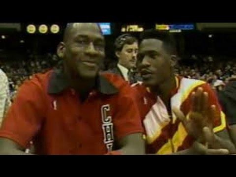 1ce94d8a6b53a8 1988 Epic Dunk Contest Battle - Michael Jordan vs. Dominique Wilkins ...