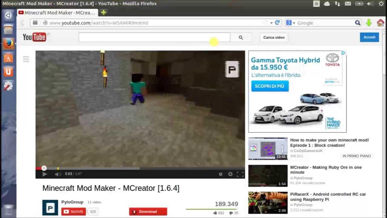 Scaricare video da youtube con ubuntu